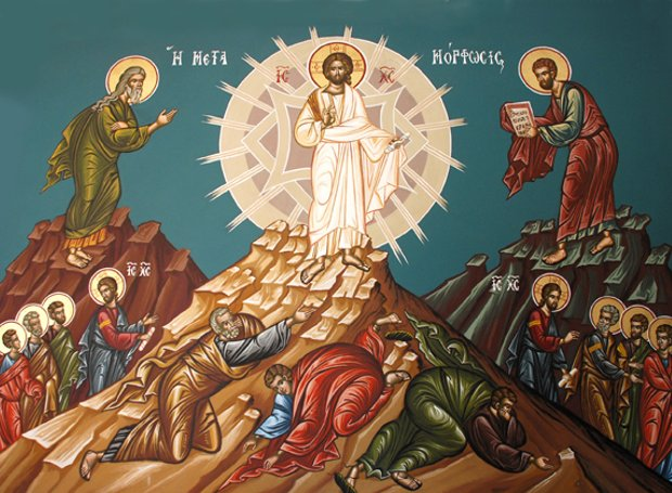 Αποτέλεσμα εικόνας για Μεταμόρφωση του Σωτήρος Χριστού