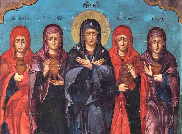 Image result for ΚΥΡΙΑΚΗ ΤΩΝ ΜΥΡΟΦΟΡΩΝ
