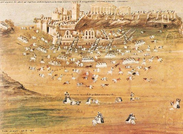 Αποτέλεσμα εικόνας για Όταν οι Έλληνες έστειλαν βόλια στους Τούρκους