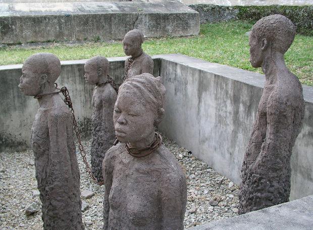 Μνημείο για τα θύματα δουλεμπορίου, στη Ζανζιβάρη