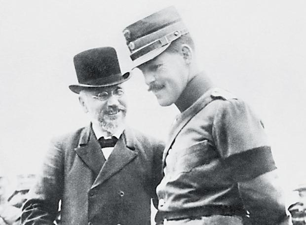 Ο Ελευθέριος Βενιζέλος και ο Βασιλιάς Κωνσταντίνος