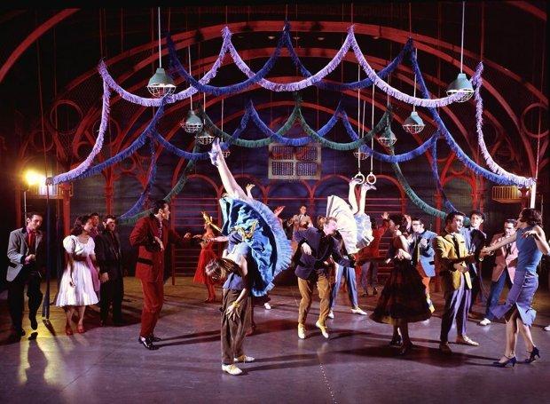 Σκηνή από την πρώτη παράσταση του 1957