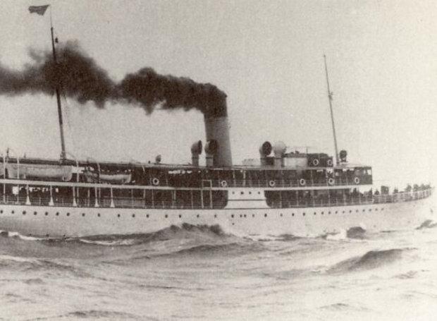 Tο ατμόπλοιο «Χειμάρρα»