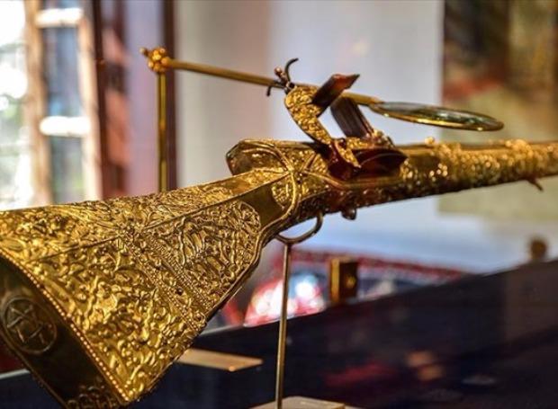 Tο χρυσό καριοφίλι του Αλή-Πασά.