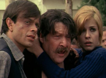 O Χρηστός Πολίτης, ο Φερνάντο Σάντσο και η Βέρα Κρούσκα στην ταινία «28η Οκτωβρίου ώρα 5:30»