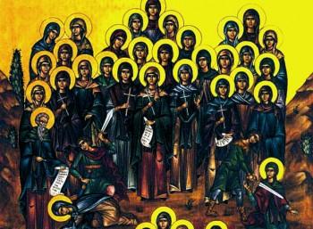 Ο διάκονος Αμμούν και οι συν αυτώ τεσσαράκοντα παρθένες και ασκήτριες