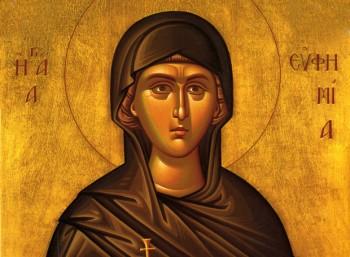 Αγία Ευφημία - Βιογραφία - Σαν Σήμερα .gr