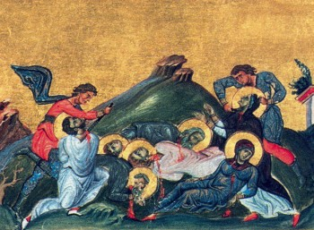 Το μαρτύριο της Αγίας Περπέτουας, Σατύρου, Σατουρνίνου, Σεκούνδου, Ρεουκάτου και Φιλικιτάτης.