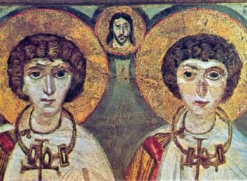 Οι Άγιοι Πολύευκτος και Νέαρχος