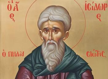 Όσιος Ισίδωρος ο Πηλουσιώτης (370 – 449)