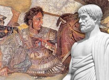 Η ευχή του Αριστοτέλη στο νεογέννητο Αλέξανδρο