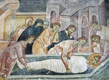 Η ανακομιδή των λειψάνων του Αγίου Γεωργίου