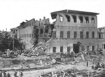 Το χαρέμι του Σουλτάνου μετά τον βομβαρδισμό
