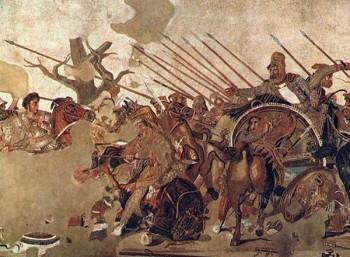 Ψηφιδωτό στο Αρχαιολογικό Μουσείο της Νάπολης