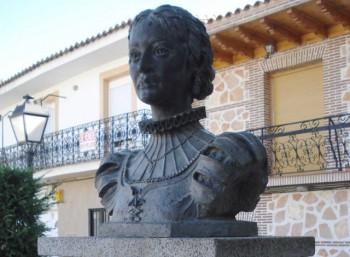 Προτομή της Καταλίνα δε Σαλαθάρ ι Παλάθιος