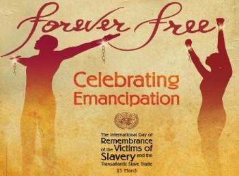 Διεθνής Ημέρα Μνήμης για τα Θύματα της Δουλείας και του Διατλαντικού Δουλεμπορίου