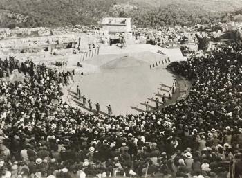 Αισχύλου «Προμηθέας Δεσμώτης». Β' Δελφικές Εορτές (1930)