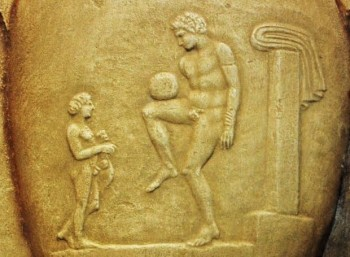 Επιτύμβια στήλη, 4ος αιώνας π.Χ., Εθνικό Αρχαιολογικό Μουσείο