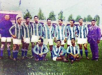 Η Εθνική Ελλάδος στους Ολυμπιακούς Αγώνες της Αμβέρσας, το 1920.