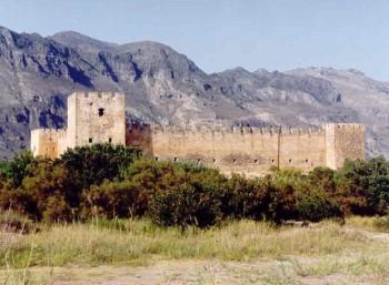 Το ενετικό κάστρο Φραγκοκάστελλο