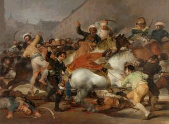 «2 Μαΐου» («El dos de Mayo»), πίνακας του Φρανθίσκο Γκόγια