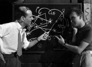 Ο Χέρμις Παν (δεξιά) με τον Φρεντ Αστέρ