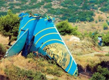 Δυστυχήματα της πολιτικής αεροπορίας στον ελληνικό χώρο