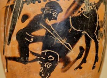 Λεπτομέρεια από αττική λήκυθο, 480 - 470 π.Χ.