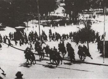 Αιματηρή διαδήλωση στην κατεχόμενη Αθήνα