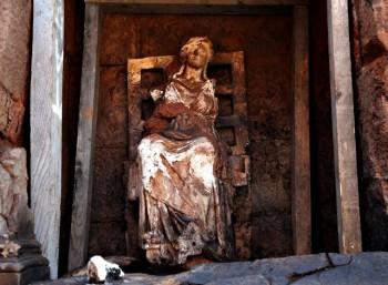 Μοναδικό άγαλμα της Κυβέλης αναδύθηκε από τη γη του Πόντου