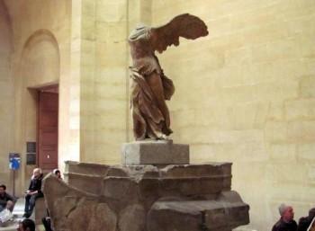 Θα αποκατασταθούν εκ νέου το χέρι και το φτερό της Νίκης της Σαμοθράκης