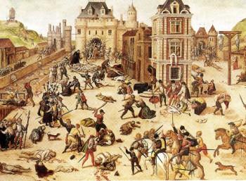Η σφαγή του Αγίου Βαρθολομαίου, πίνακας του Φρανσουά Ντιμπουά