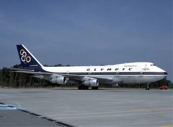 «Ολύμπιος Αετός»: Ένα από τα Μπόινγκ 747 της Ο.Α