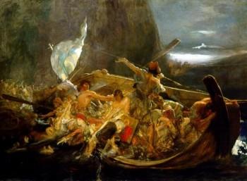 Μετά την καταστροφή των Ψαρών, Νικόλαος Γύζης