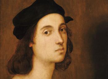 Αυτοπροσωπογραφία του Ραφαήλ, σε ηλικία περίπου 23 ετών