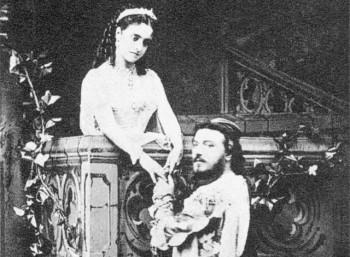 Στιγμιότυπο από την πρεμιέρα της όπερας «Ρωμαίος και Ιουλιέτα» (1867)
