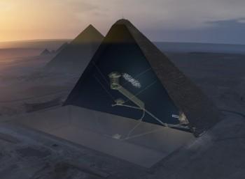 Μυστηριώδες κενό στην Πυραμίδα του Χέοπα