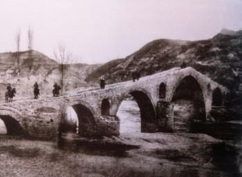 Τούρκοι ιππείς στο Γεφύρι του Πασά το 1905
