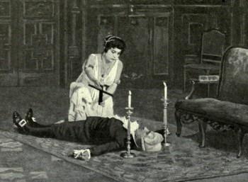 Φωτογραφία προ του 1914, από παραγωγή της Μητροπολιτικής Όπερας της Νέας Υόρκης
