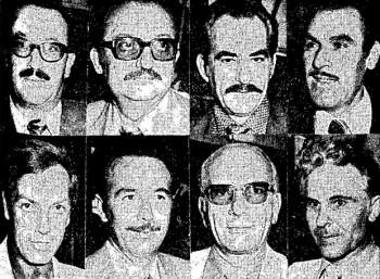 Οκτώ από τους καταδικασθέντες αξιωματικούς
