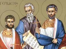 Άγιοι Ναζάριος, Προτάσιος, Γερβάσιος, Κέλσιος