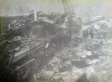 Το πολύνεκρο σιδηροδρομικό δυστύχημα στο Δοξαρά